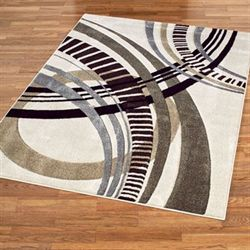Sensation Abstract Rectangle Rug
