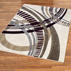 Sensation Abstract Rectangle Rug