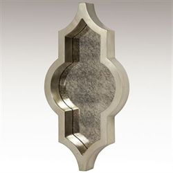 Celene Mirrored Wall Accent Silver