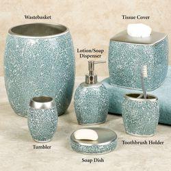 Calm Waters Lotion Soap Dispenser Aqua