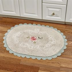 Butterfly Moments Bath Rug Natural 20 x 30