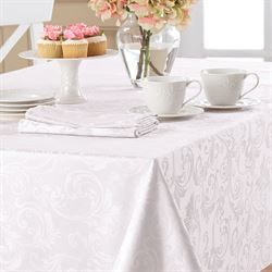 Verando Scroll Oblong Tablecloth