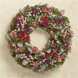 Ellas Rose Garden Wreath Multi Warm