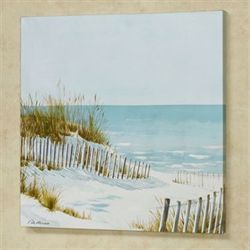 Coastal View Canvas Wall Art Multi Cool