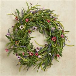Wild Flower Wreath Multi Pastel
