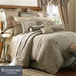 Hazeldene Comforter Set Light Taupe