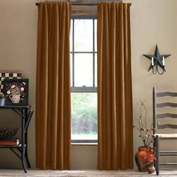 Ocala Back Tab Tailored Curtain Panel