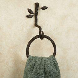 Nature Walk Towel Ring Brown