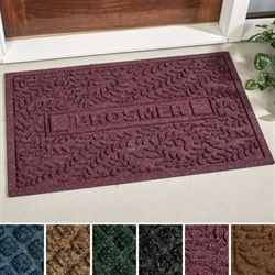Auberon Personalized Doormat 110 x 3