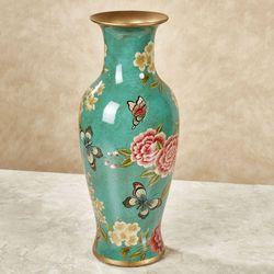 Bonnie Butterfly Vase I Seafoam
