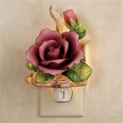 Porcelian Rose Nightlight