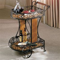 Milan Serving Cart