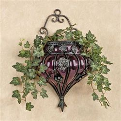 Grape Wall Vase