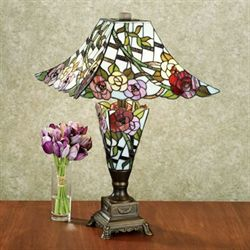 Haleys Garden Table Lamp Pink