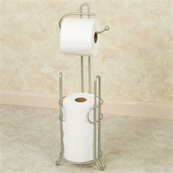 Maxine Toilet Tissue Holder Satin Nickel