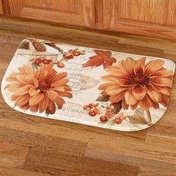Fall in Love Slice Mat Ivory 16 x 26