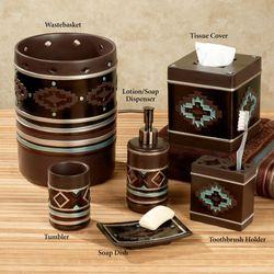 High Plains Lotion Soap Dispenser Chocolate