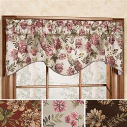 Dahlia Shaped Valance 55 x 17