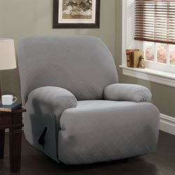 Double Diamond Stretch Slipcover Jumbo Recliner
