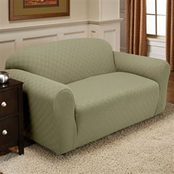 Newport Stretch Slipcover Loveseat
