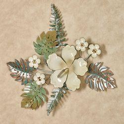 Island Hibiscus Wall Art Ivory