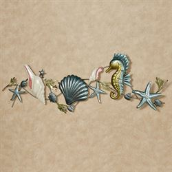 Under the Sea Melange Wall Topper Multi Cool