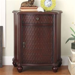 Catena Storage Cabinet Rustic Red