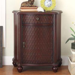 Catena Storage Cabinet Rustic Red