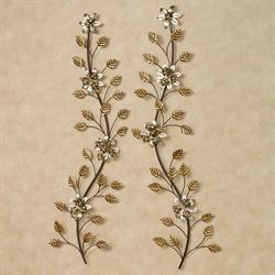 Bellissa Wall Accents Multi Metallic Set of Two