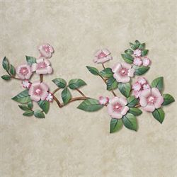 Oriental Splendor Wall Sculpture Pink