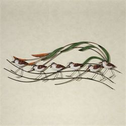 Sandpiper Wave Wall Sculpture