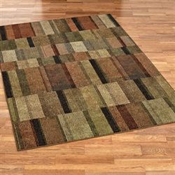 Parker Rectangle Rug Multi Warm