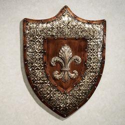 Shield of Honor Wall Art Multi Metallic