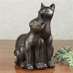 Mischief Makers Cat Sculpture Bronze