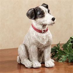 Bentley Puppy Table Sculpture Black/White