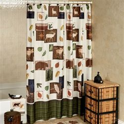 Explore Shower Curtain Light Cream 70 x 72