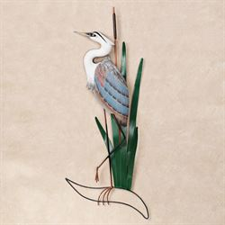 Blue Heron Head Up Wall Art Multi Cool