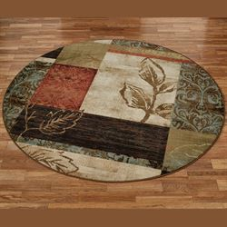 Natures Mirage Round Rug Multi Warm 78 Round