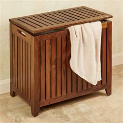 Jonas Teak Large Hamper