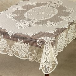Victorian Lace Oblong Tablecloth