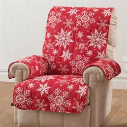 Snowflake Furniture Protector Cover Recliner