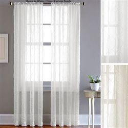 Pintuck Sheer Voile Curtain Panel