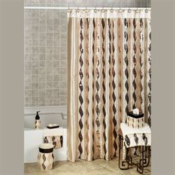 Shimmer Shower Curtain Gold 72 x 72