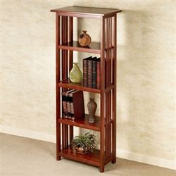 Brynden Tall Bookshelf Natural Cherry