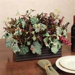Merlot Harvest Centerpiece Multi Earth