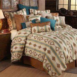 Alamosa Comforter Bed Set Beige