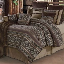 Tucson Oversized Comforter Bed Set Multi Earth