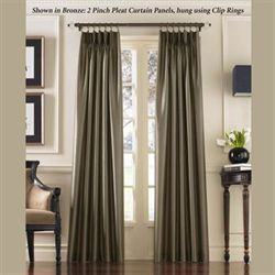 Marquee Pinch Pleat Curtain Panel