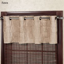 Camden Quilted Grommet Valance 55 x 18