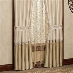 Princess Ann Tailored Curtain Pair